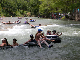 Fun rapids on the Guadalupe River equals awesome tubing!  RiverSportsTubes.com   830-964-2450